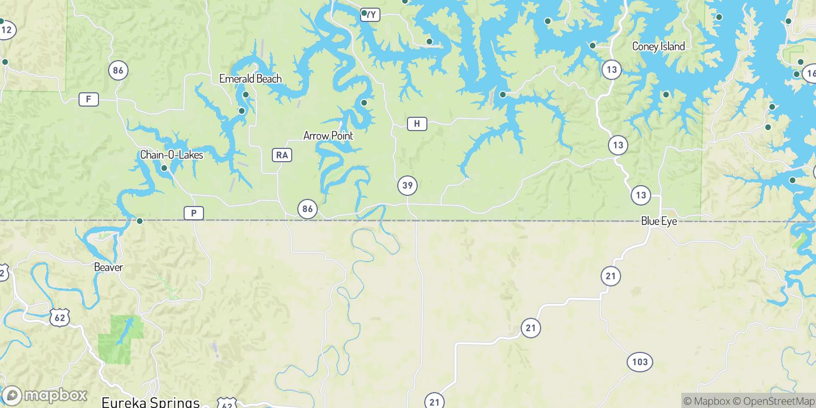 The best camping near Carr Lane, Missouri