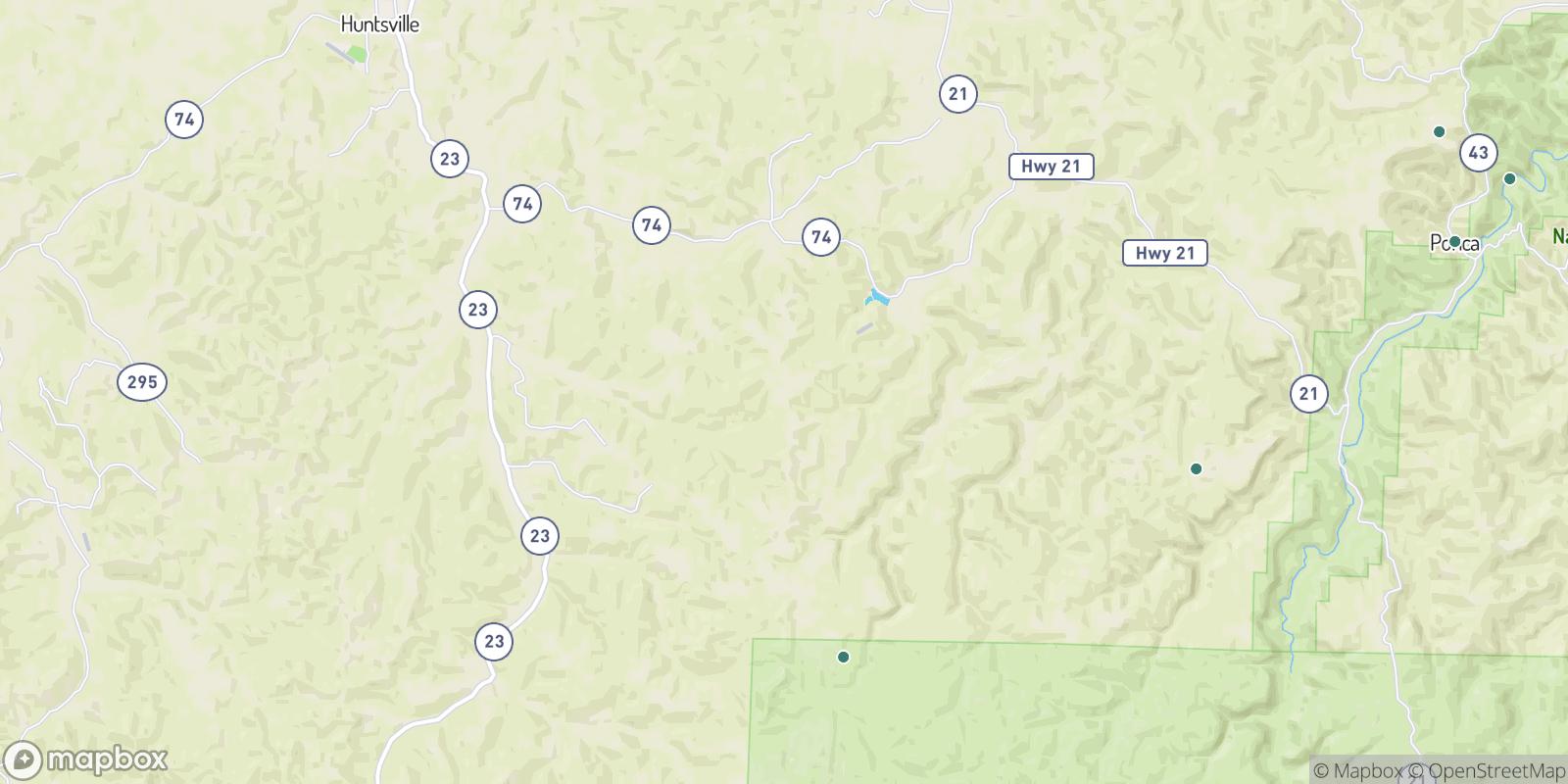 The best camping near Reynolds, Arkansas