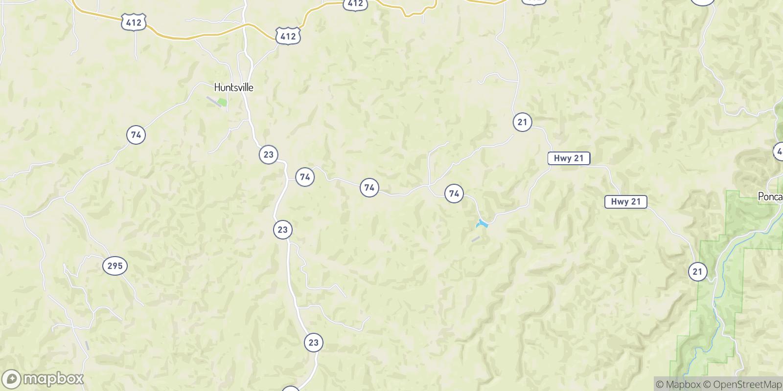 The best camping near Wharton, Arkansas