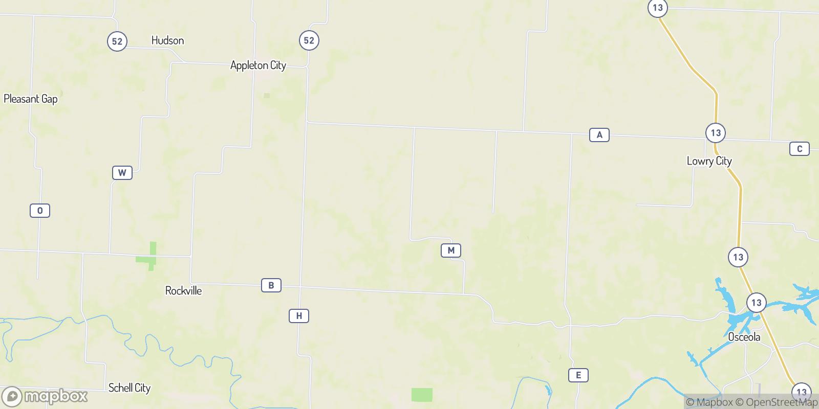 The best camping near Johnson City, Missouri