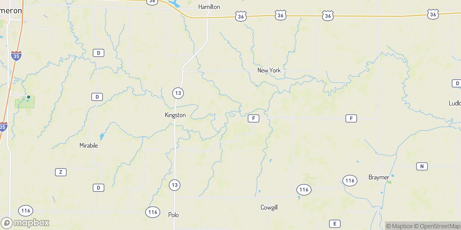 The best camping near Bonanza, Missouri