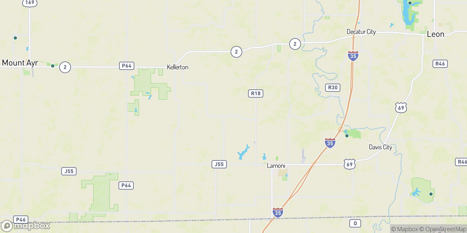 The best camping near Tuskeego, Iowa