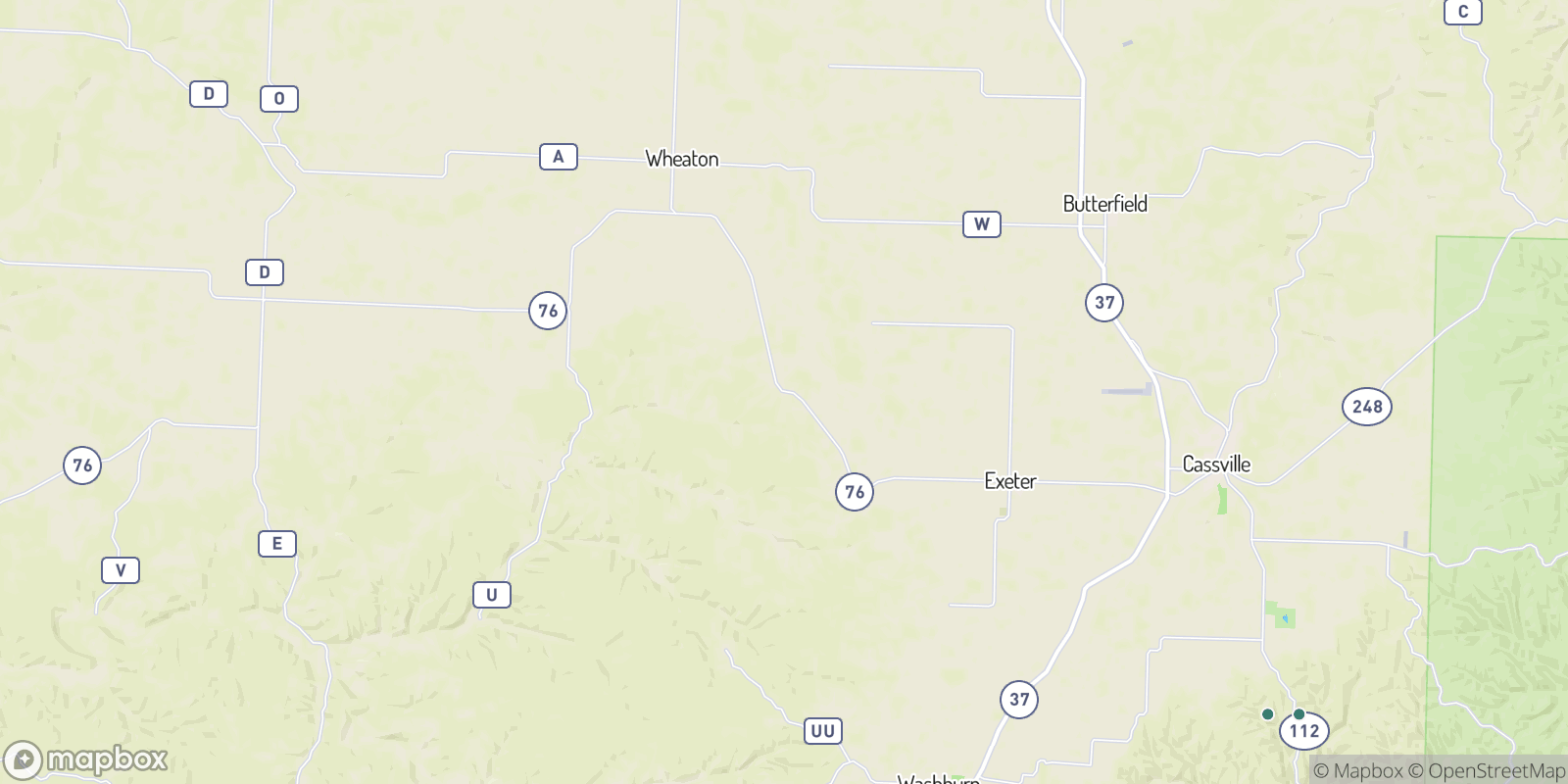 The best camping near Ridgley, Missouri