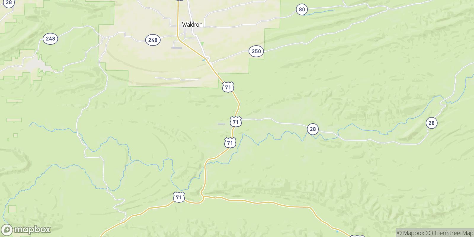 The best camping near Needmore, Arkansas