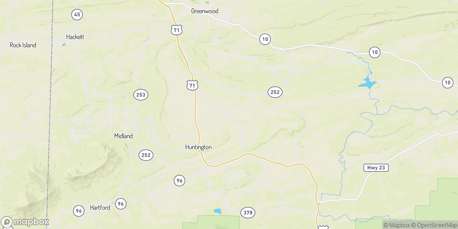 The best camping near Dayton, Arkansas