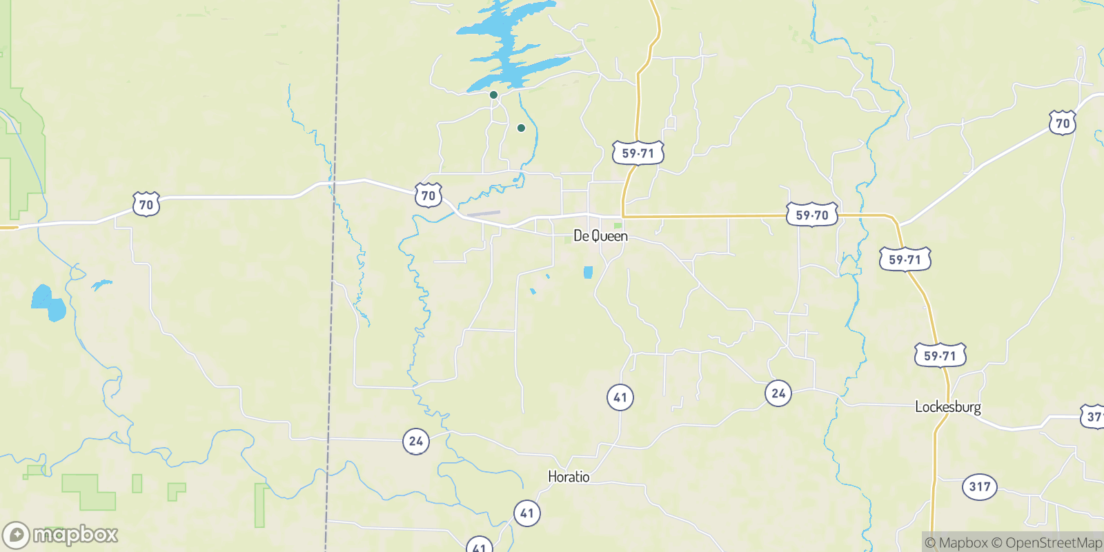 The best camping near Process City, Arkansas
