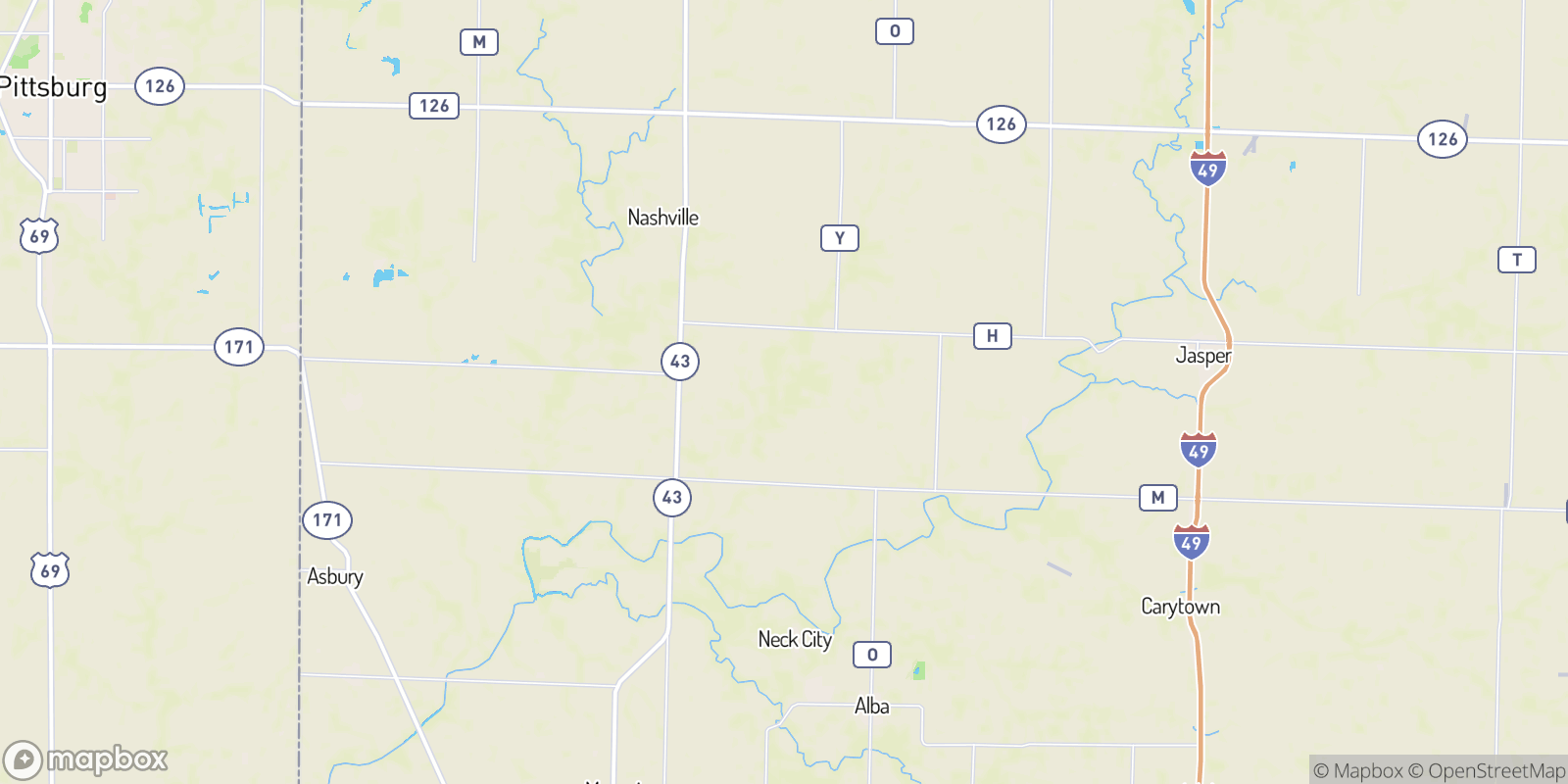 The best camping near Cossville, Missouri