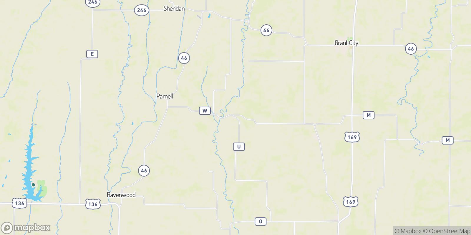 The best camping near Oxford, Missouri