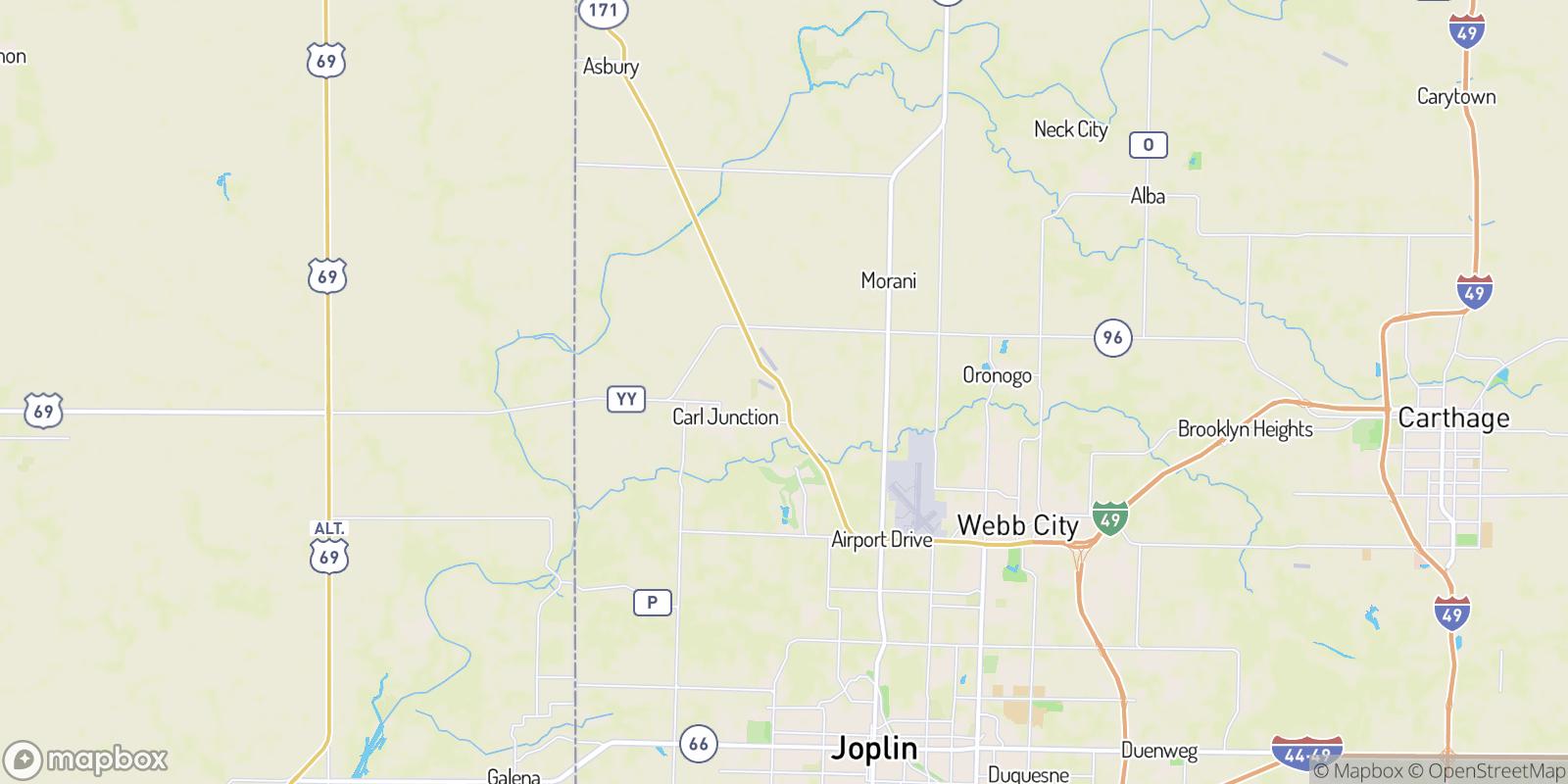 The best camping near Gulfton, Missouri