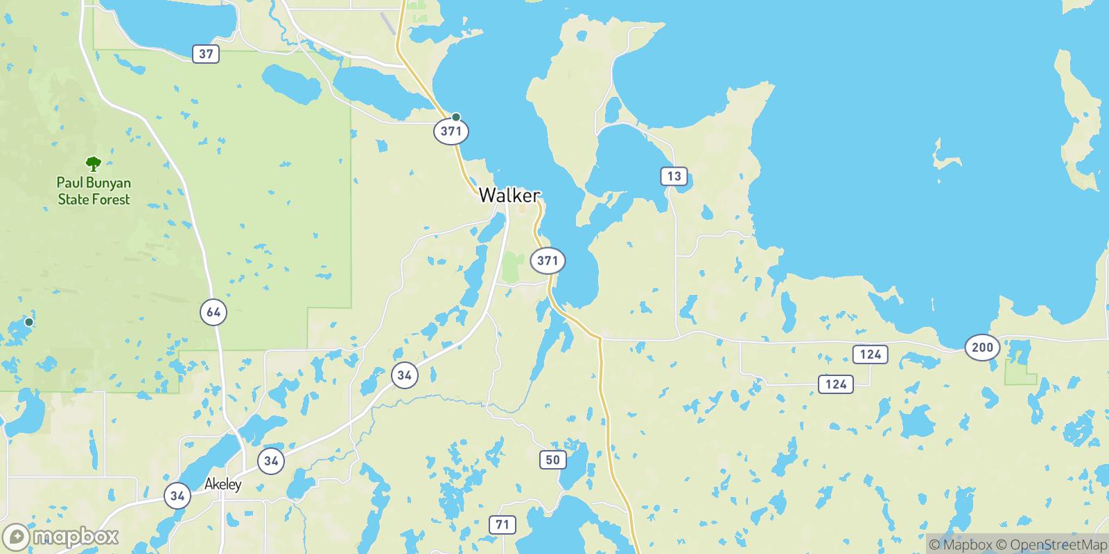 The best camping near Ah-gwah-ching, Minnesota
