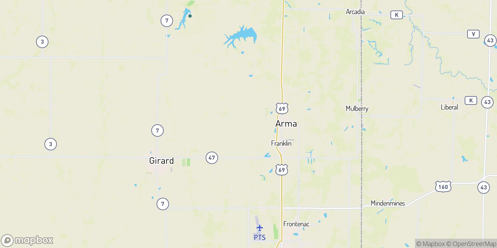 The best camping near Polk, Kansas