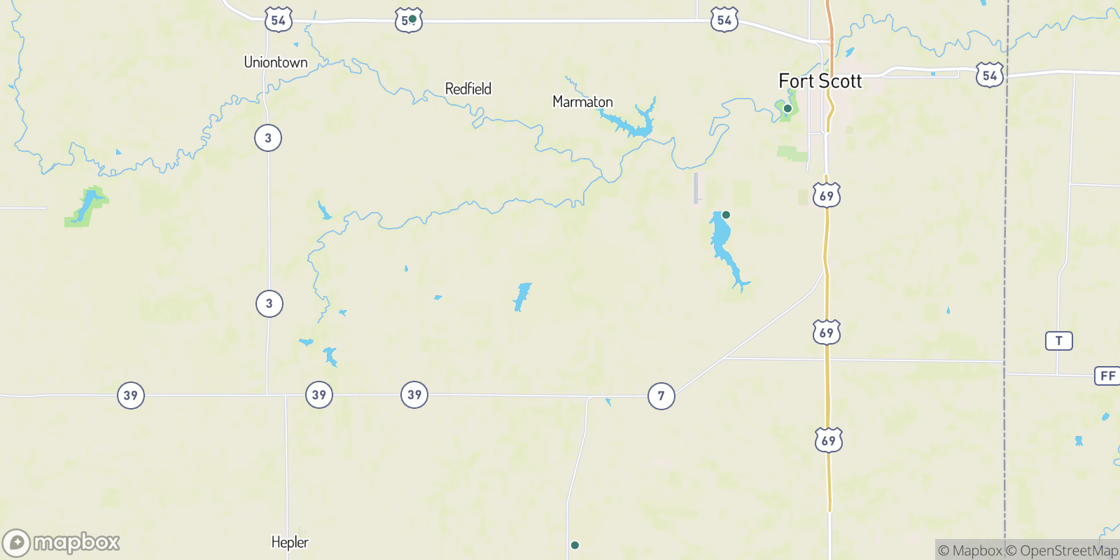 The best camping near Hollister, Kansas