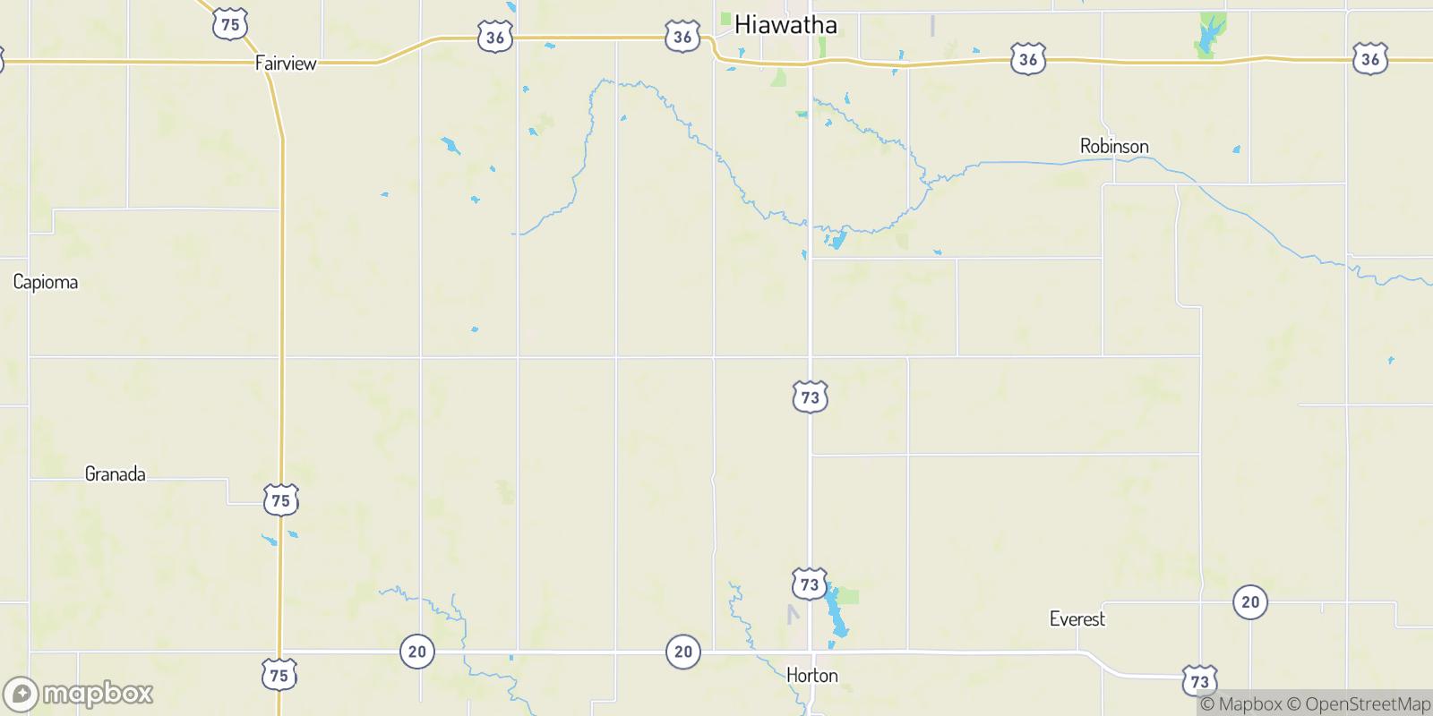 The best camping near Baker, Kansas