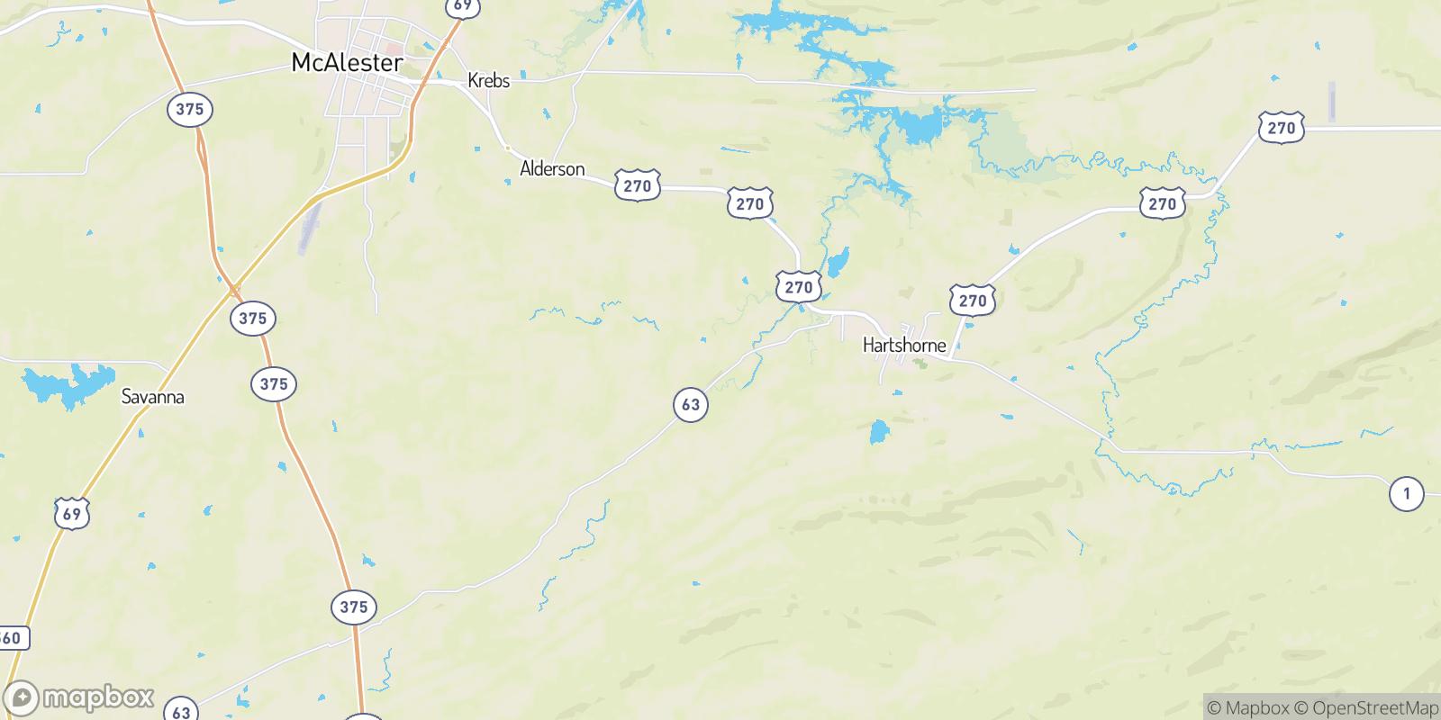 The best camping near Craig, Oklahoma