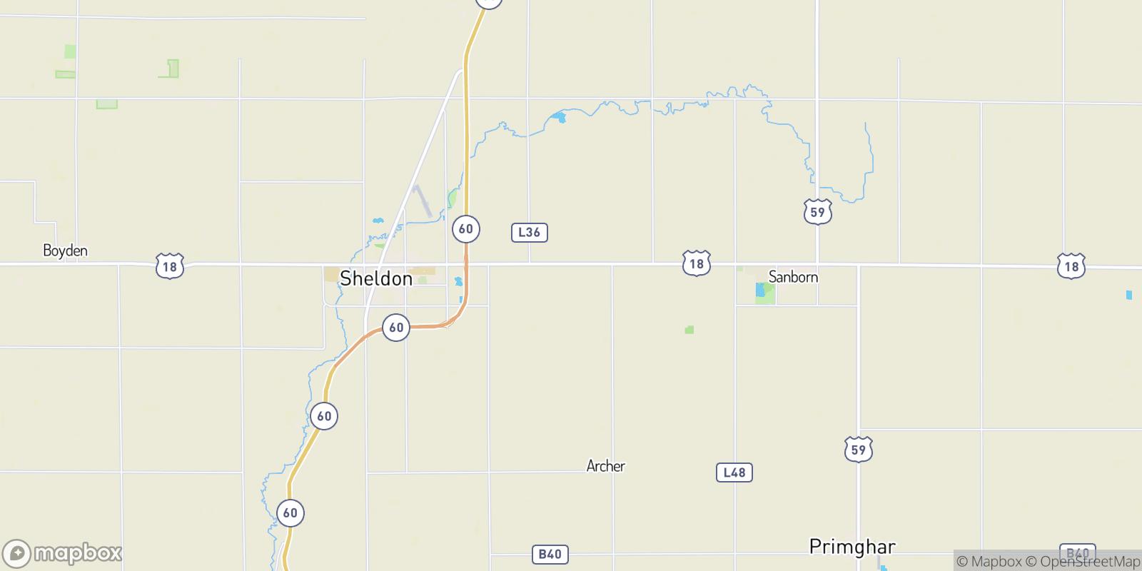 The best camping near Evander, Iowa