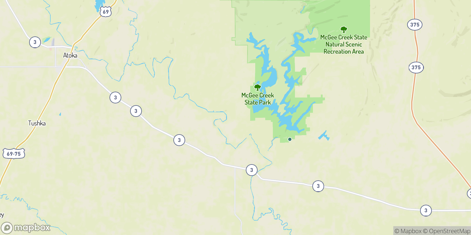 The best camping near Negro Bend, Oklahoma