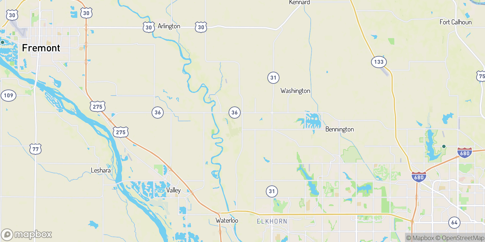 The best camping near Elk City, Nebraska