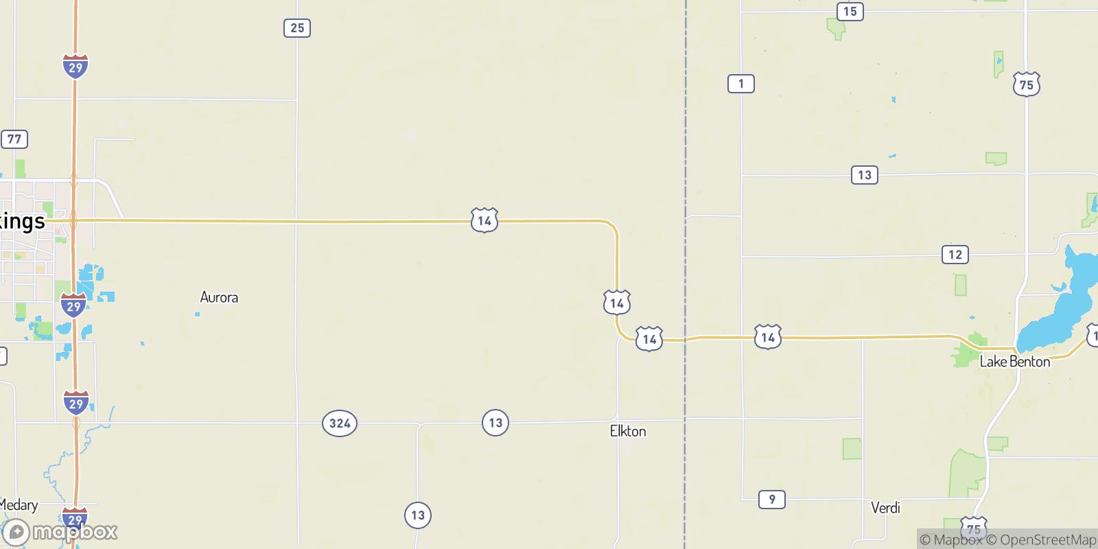 The best camping near Newdale Colony, South Dakota