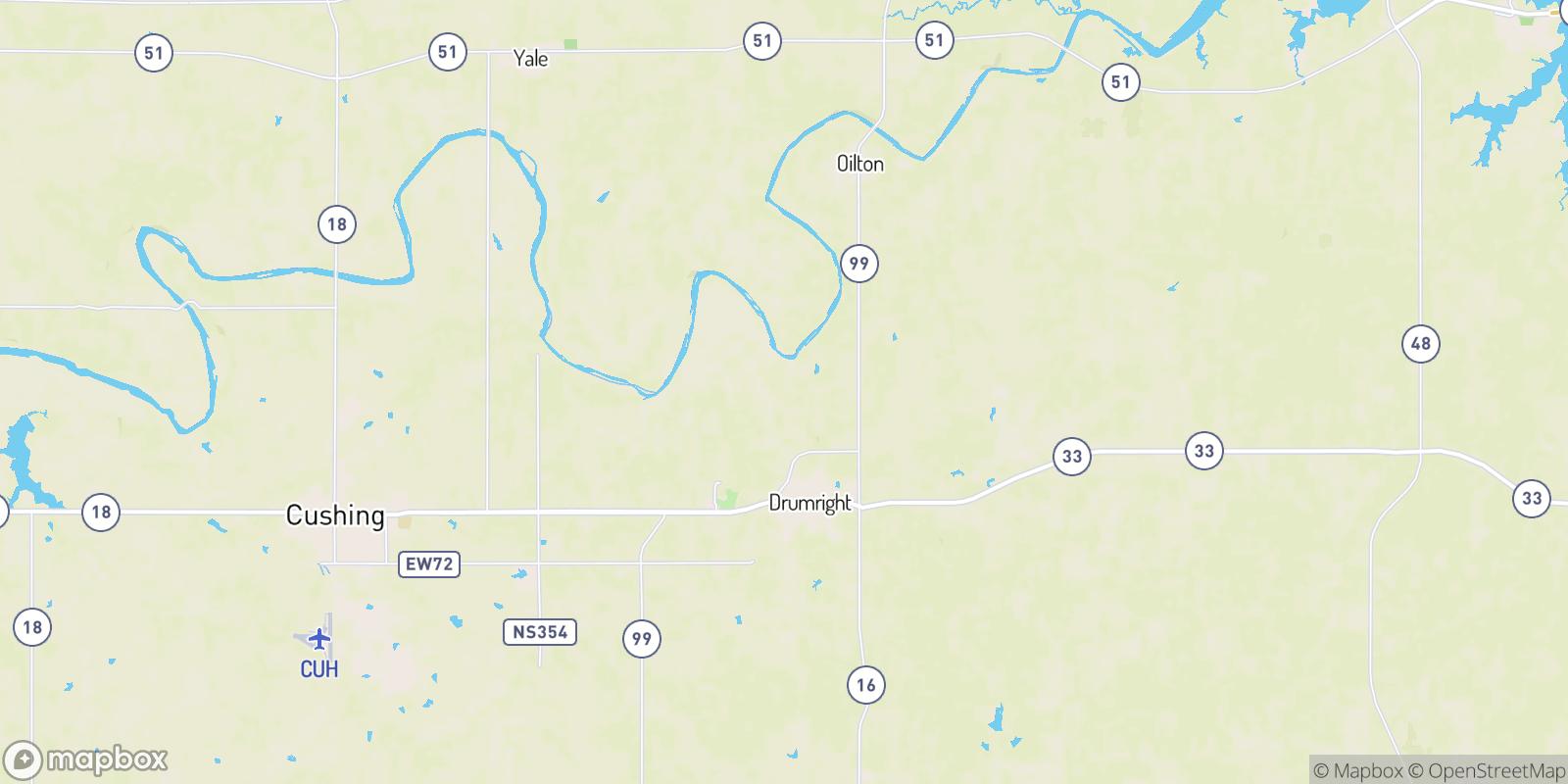 The best camping near Frey, Oklahoma