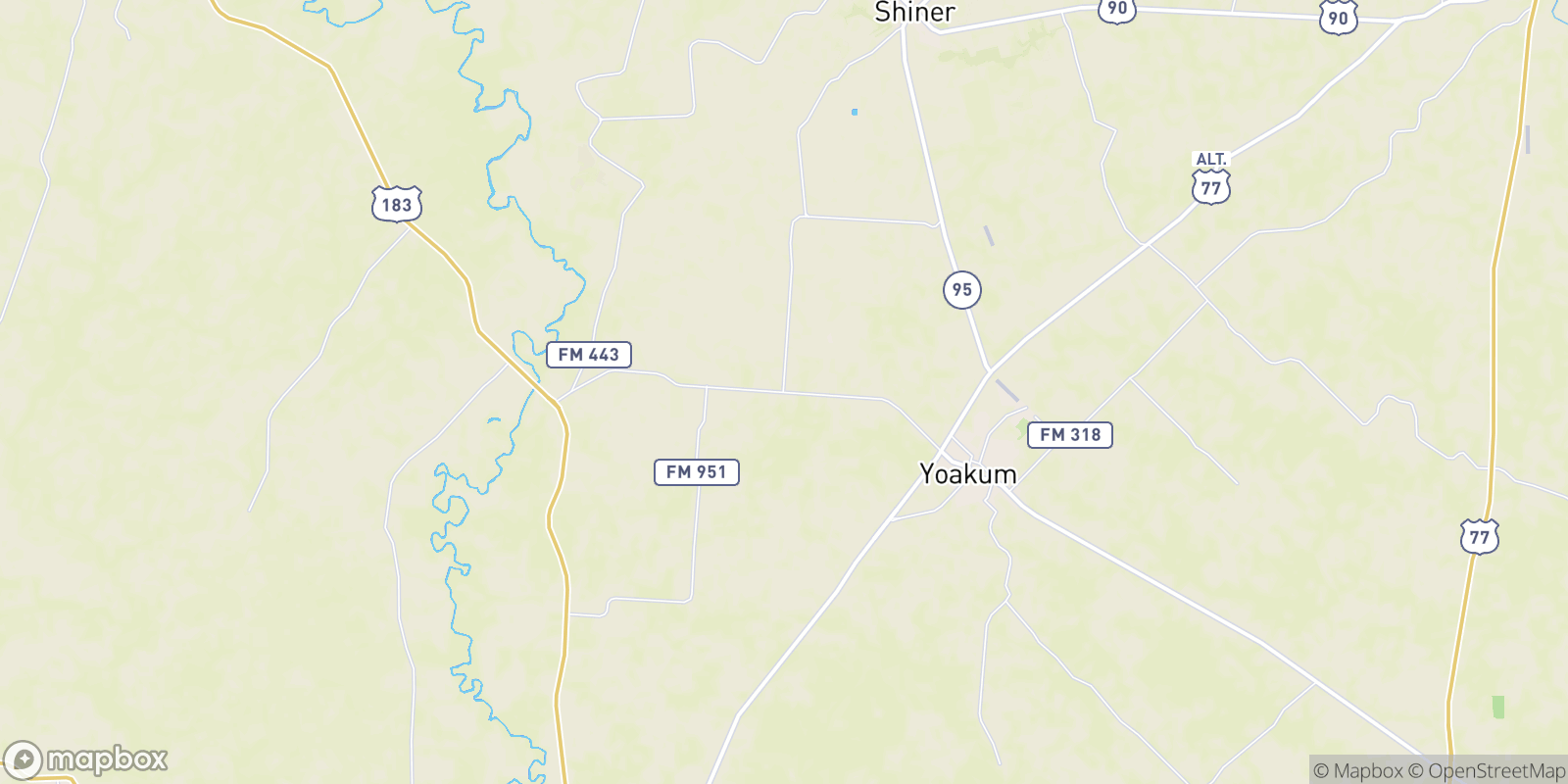 The best camping near Petersville, Texas