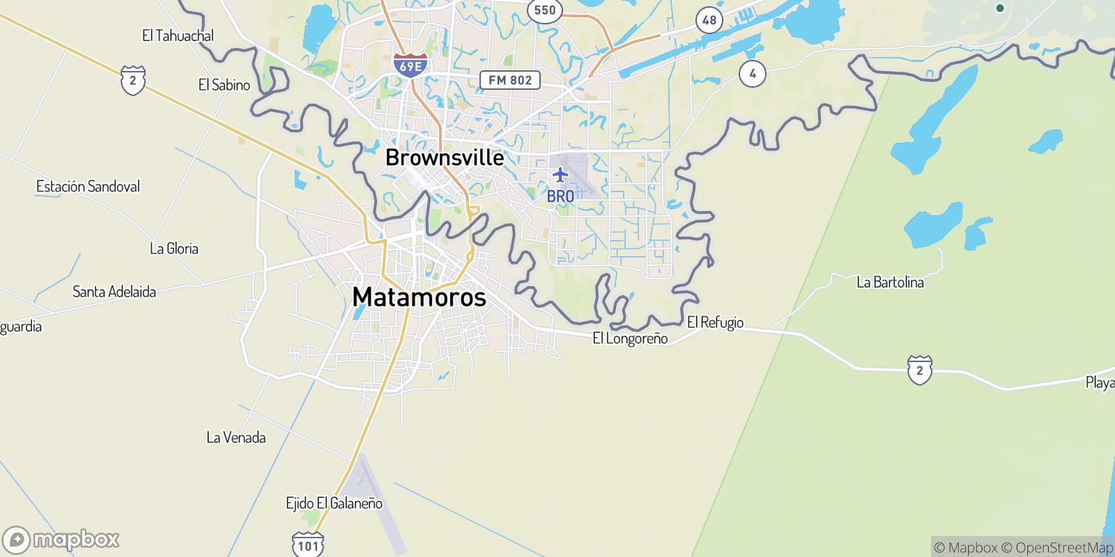 The best camping near Cisneros Estates Colonia, Texas