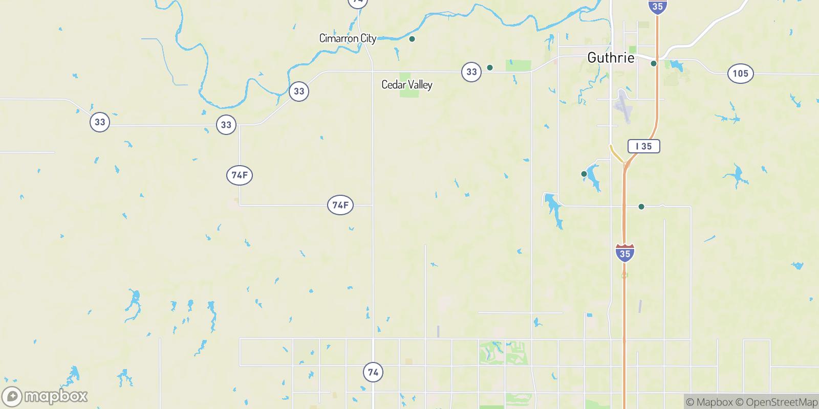 The best camping near Navina, Oklahoma