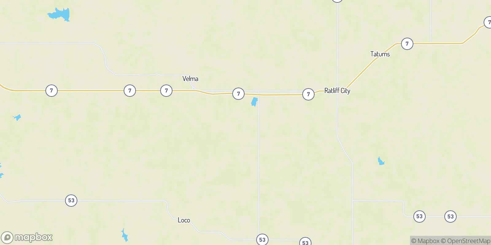 The best camping near Alma, Oklahoma