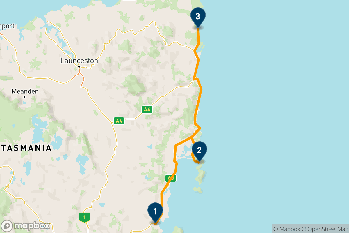5 days road tripping Tasmania's Great Eastern Drive