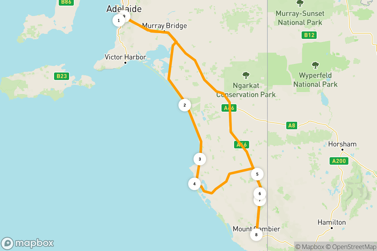 5 days road tripping on the Limestone Coast