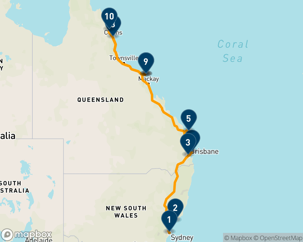 From Sydney to Cairns: A 14 day trip of cities, islands and reef