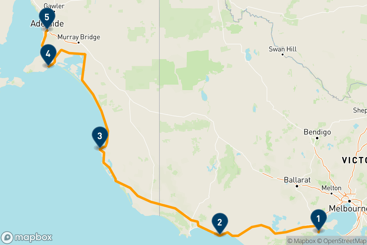 Melbourne to Adelaide: A 5-day road trip