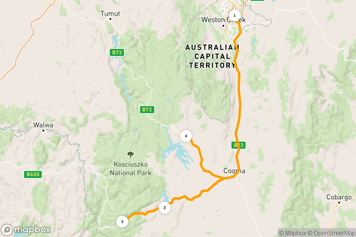 Canberra and the Snowies: a 6-day road trip adventure