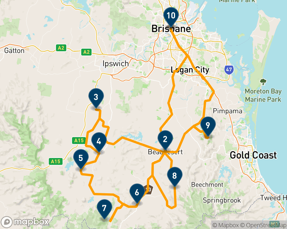 4-tägiger Roadtrip durch Queenslands Scenic Rim