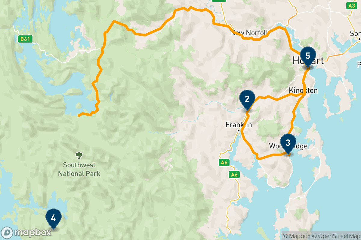 3 days exploring the Huon Valley
