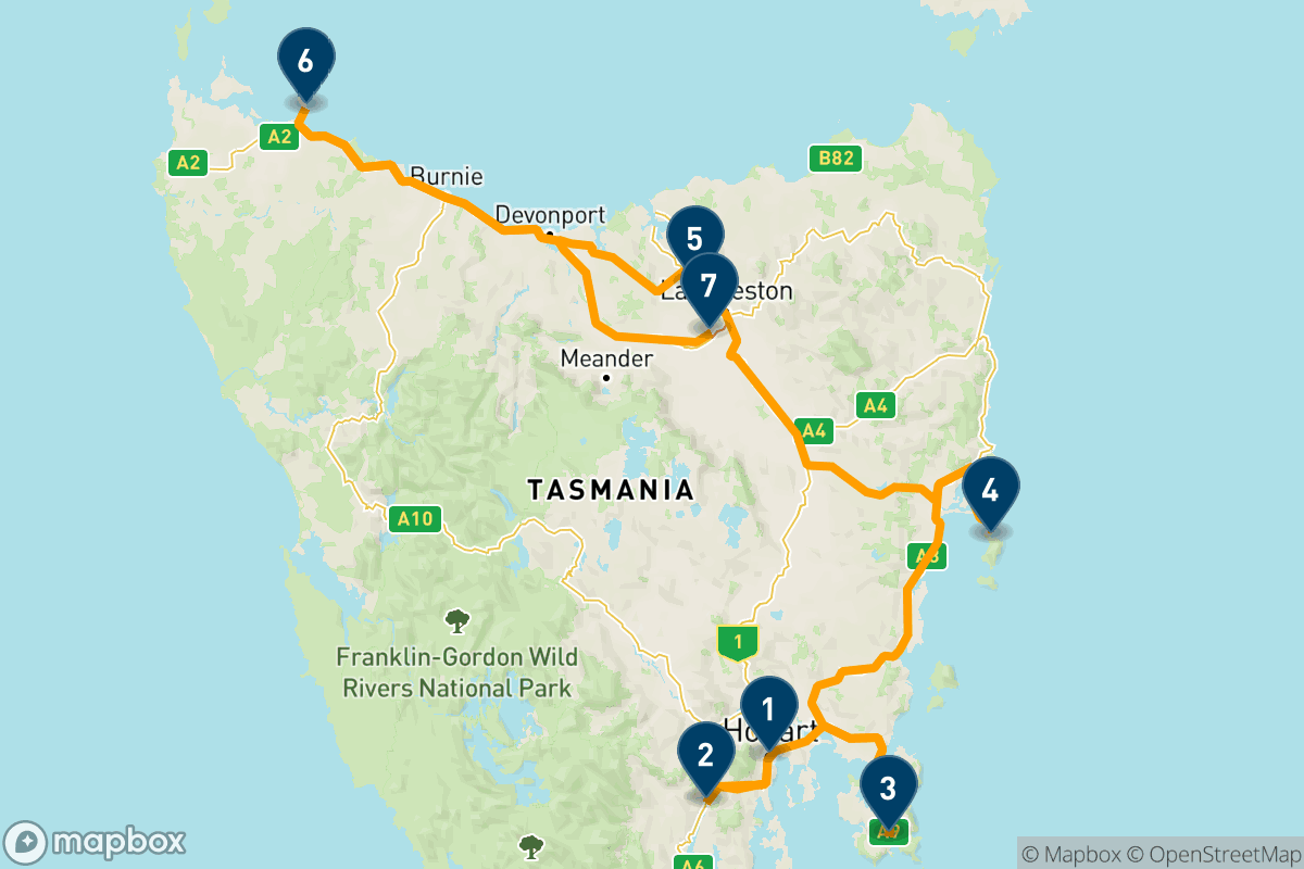 A 10-day taste of gourmet Tasmania