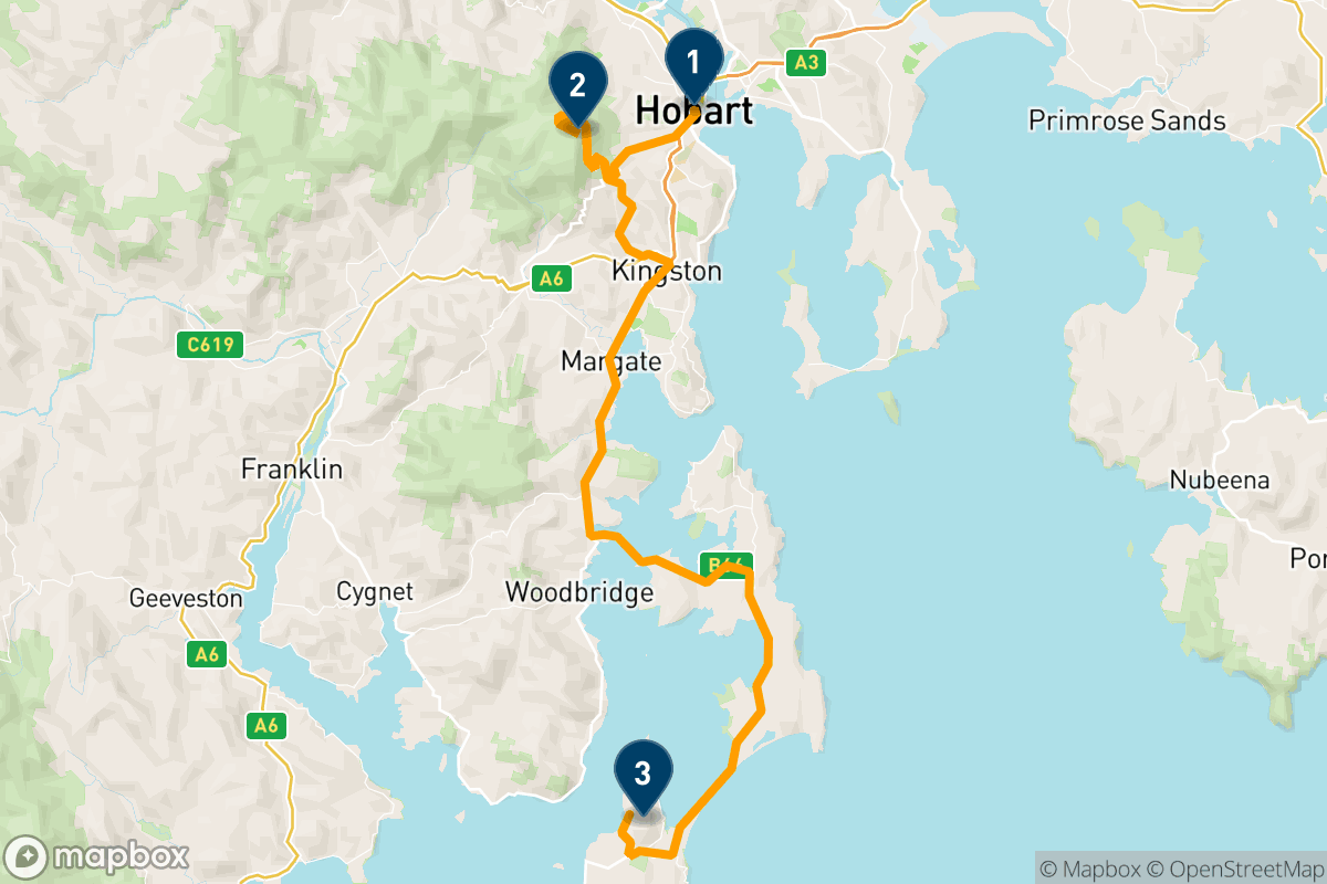 3 days in Hobart