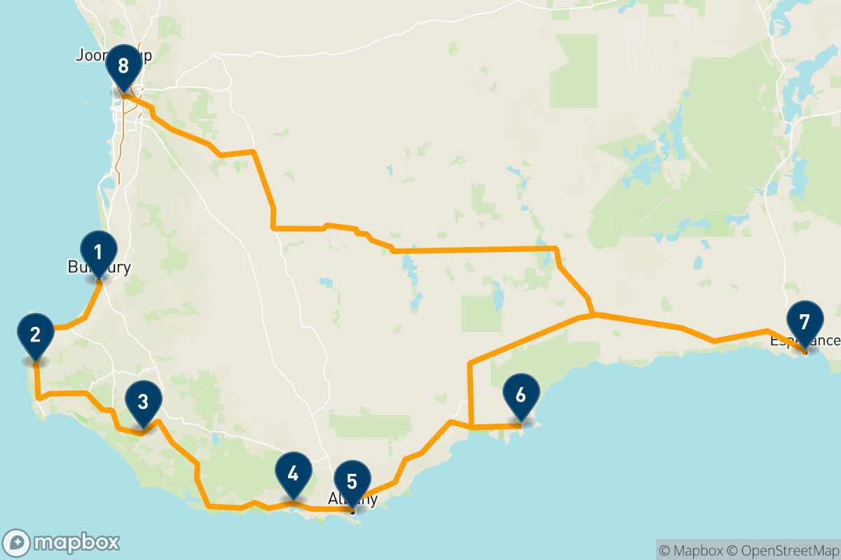 14 days driving Australia's South West corner
