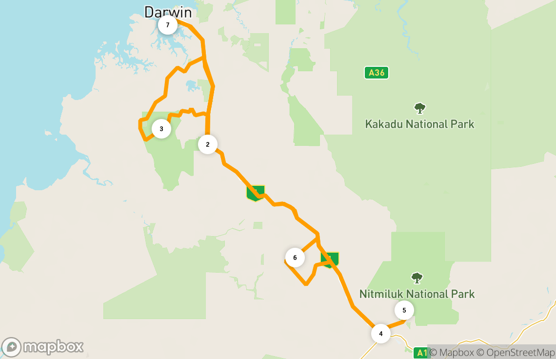 5-day Darwin to Katherine road trip