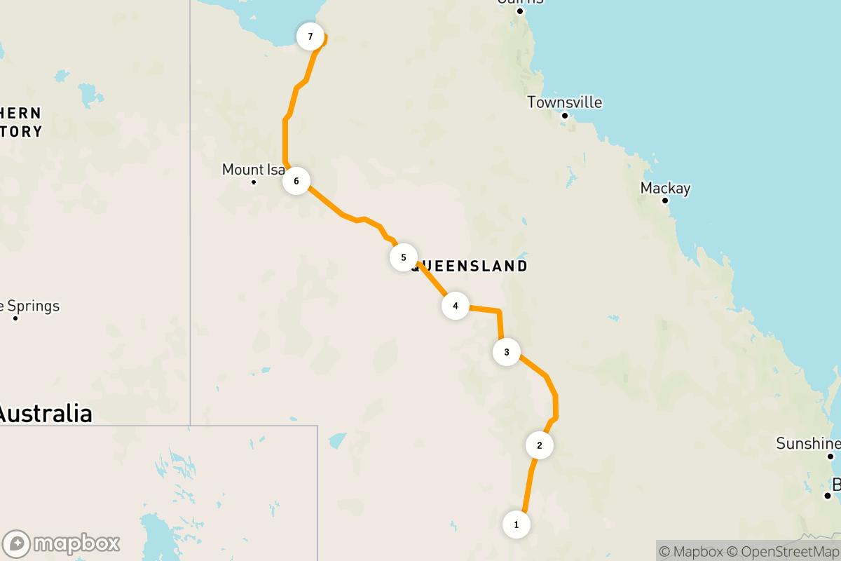 6-day road trip along the Matilda Way