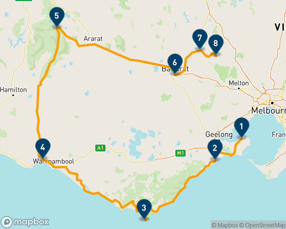 10-day road trip through regional Victoria