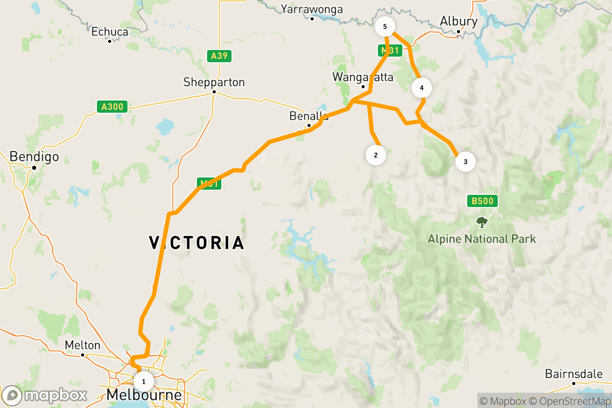 8 days in Victoria's High Country