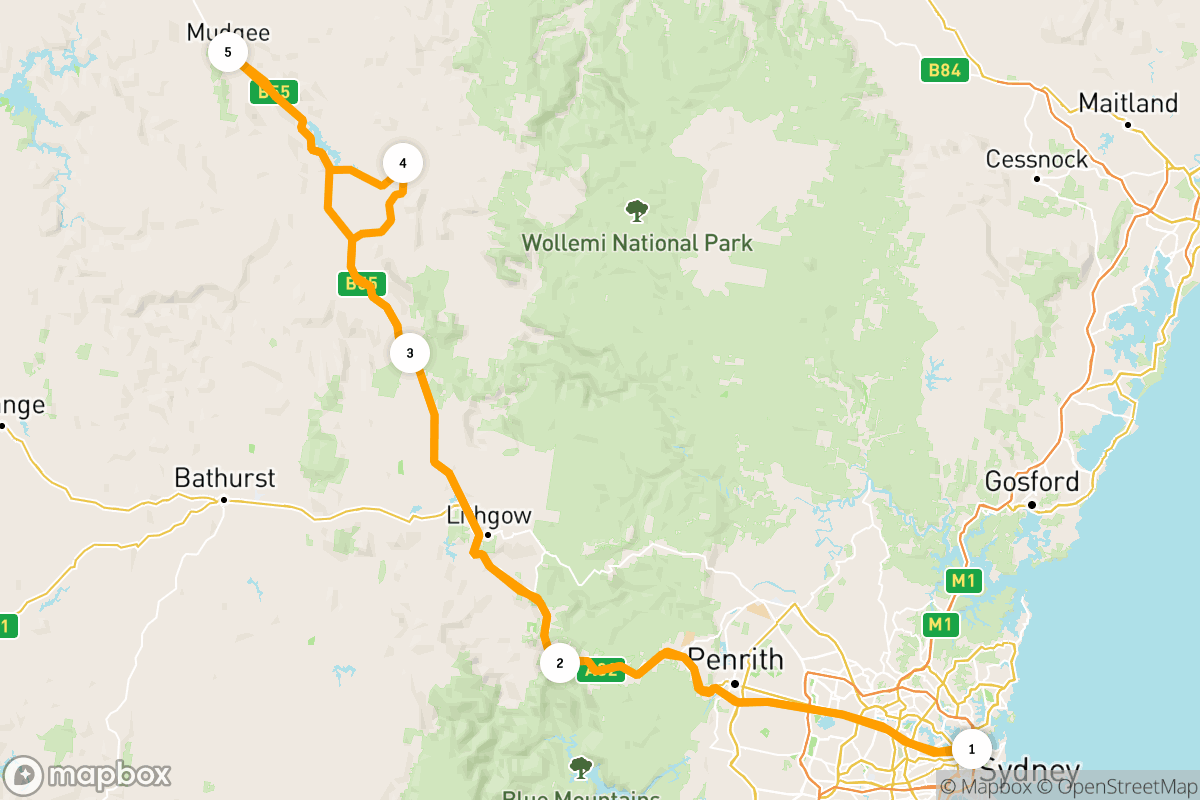 Blue Mountains to Mudgee: a 4-day road trip