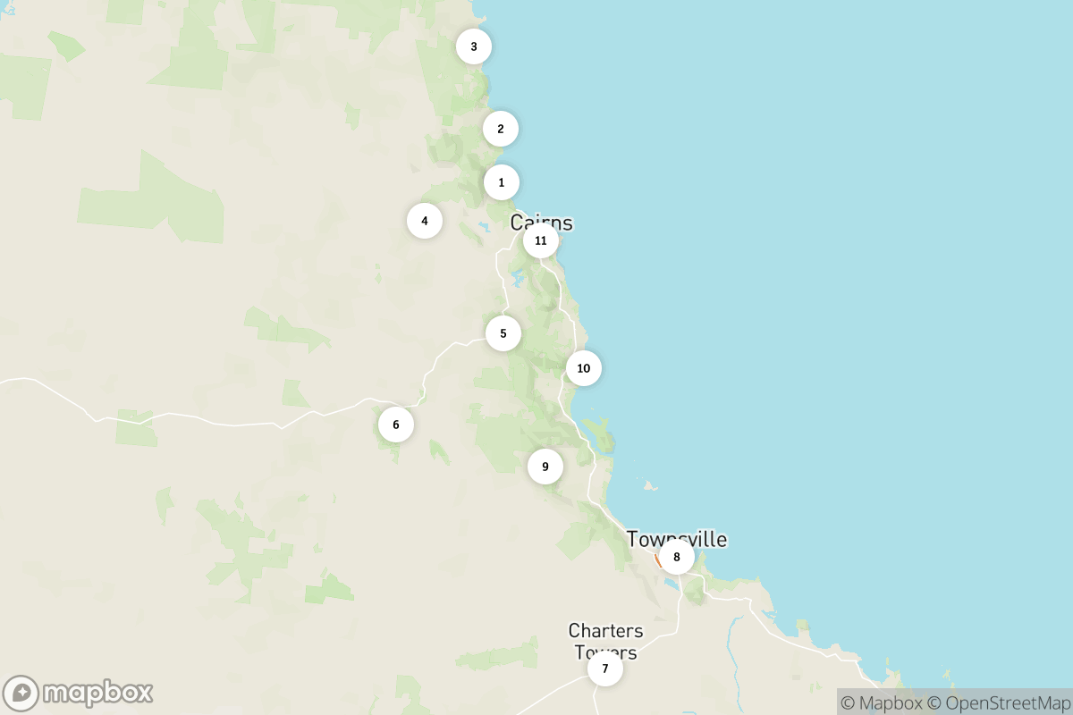 14-day Tropical North Queensland drive