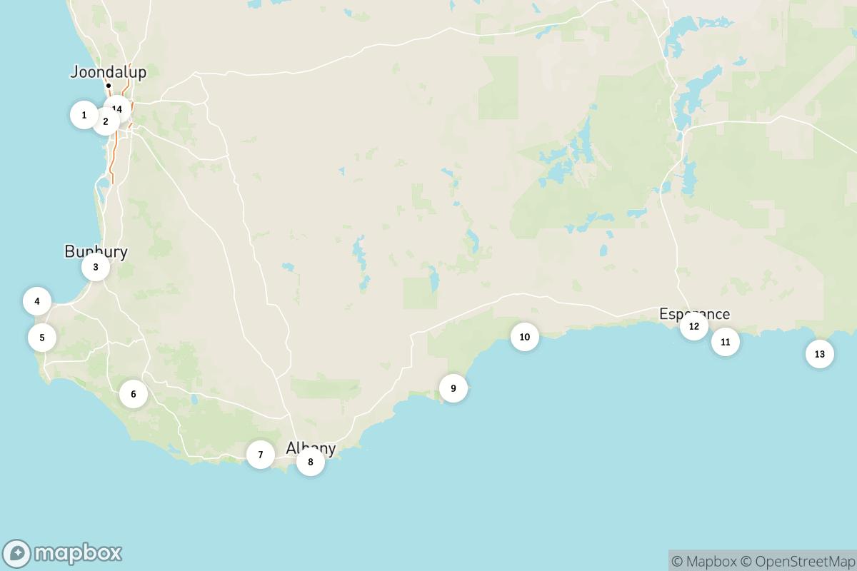 2-week road trip along Western Australia's South West Edge