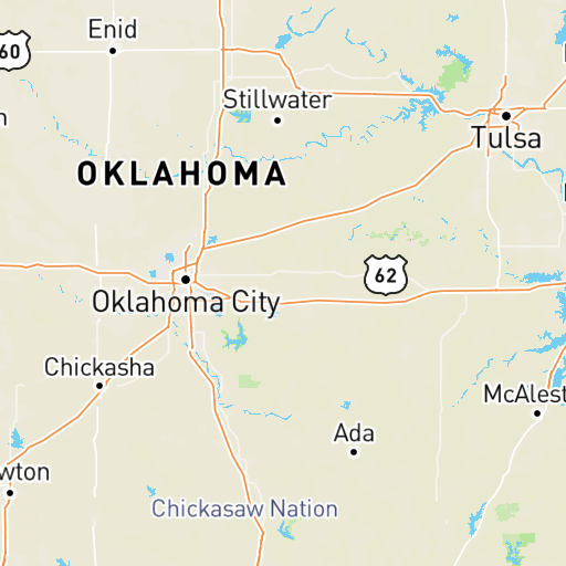 Map Of Texas And Oklahoma With Cities.Best Cell Phone Coverage In Oklahoma Whistleout