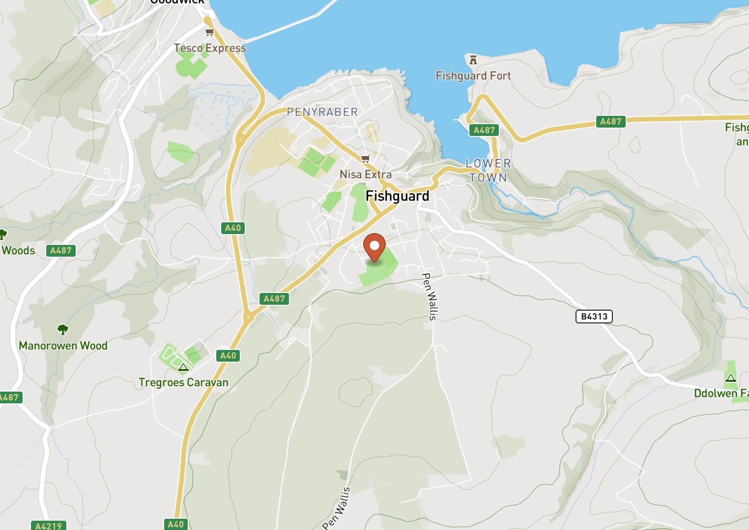 Mapbox Map of -4.978808044013238,51.99010993614897