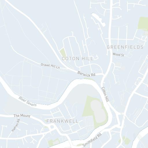 Shrewsbury Map | Original Shrewsbury
