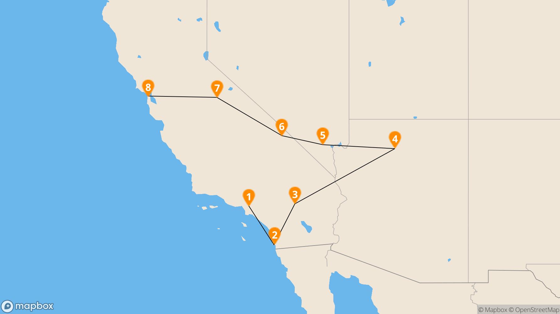 Route California Coast II
