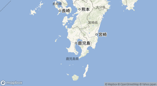 桜島の地図情報
