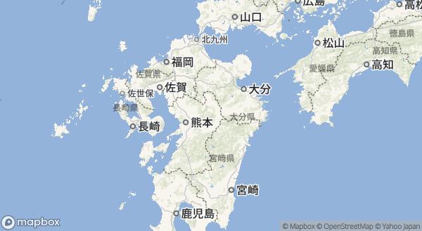 阿蘇山の地図情報